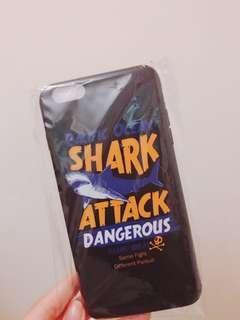 6/6s plus phone case - SHARK ATTACK