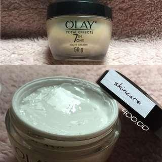 Olay Total Effects 7 in one (night cream)