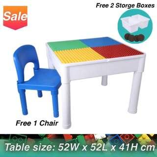 Cool Chairs And Table For Kids Bricks Figurines Carousell Download Free Architecture Designs Sospemadebymaigaardcom