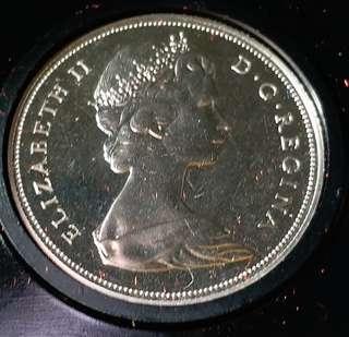 加拿大精裝纪念幣1970年。有盒