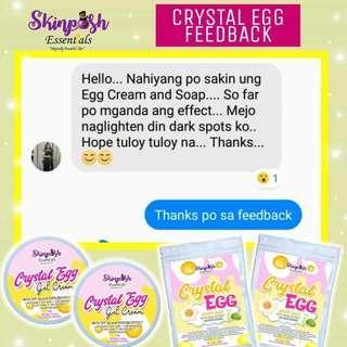Crystal Egg Whipp Soap