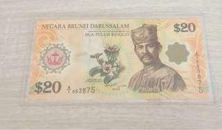 Brunei $20 Polymer note