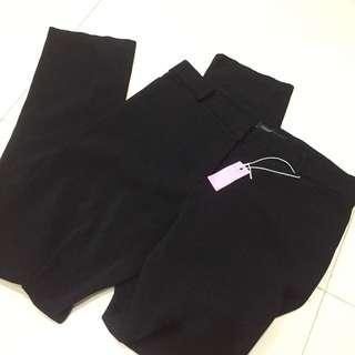 CONNEXION BLACK PANTS