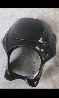 CB400 Super 4 universal headcowl gloss black