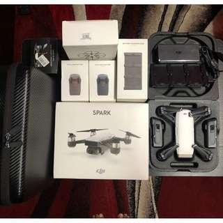 DJI Spark Drone Fullbox Original