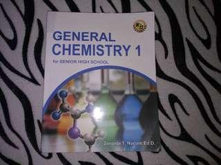 General Chemistry 1 for Senior High School ( SHS)
