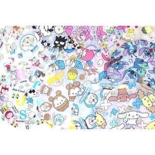 Shower cap LTS Doraemon Snoopy Melody Stitch Cinnamoroll Pompompurin Badz Maru Ufufy Duffy