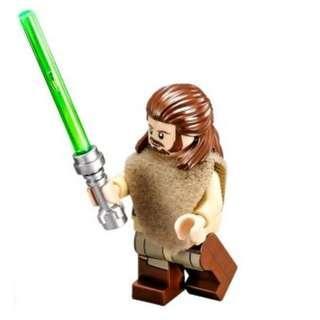 Lego Star Wars 75096 Qui-Gon Jinn (Poncho, Printed Legs) sw651