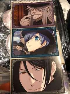 黑執事動畫post card set