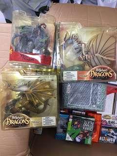 Assorted McFarlane Dragon Series
