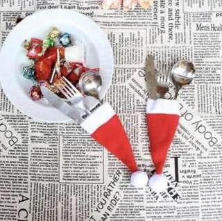 Christmas hat decorative table ware