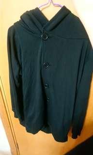 日本樂天 日系 n'Or 男裝黑色外套