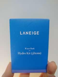 Laneige hydro kit (3items) 蘭芝 water bank