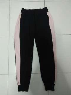 bnwot pink striped pants