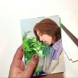 Infinite Season's Greetings Dongwoo Postcard