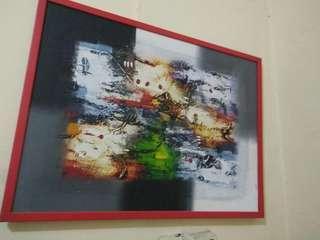 lukisan abstrak