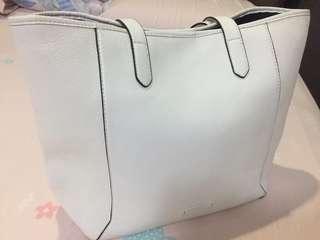 Esprit white shoulder bag