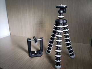 全新 八爪魚腳架 手機腳架 自拍神器 100%new smartphone tripod mini tripod
