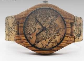 Bamboo watch EK01