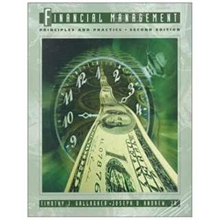 Financial Management: Principles and Practices with Finance Center Disk (2nd Edition)