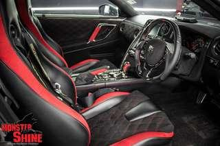 Nissan GTR R35 Alcantara Wrapped Factory Seats