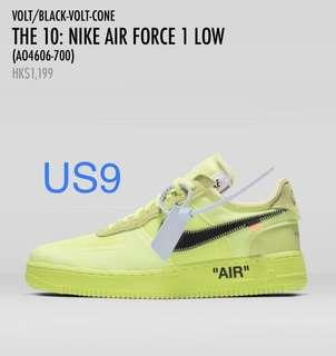 NIKE AIR FORCE 1 LOW #OFFWHITE