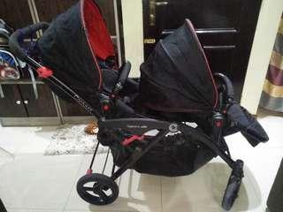 Contours Options Elite Tandem Stroller (Used)