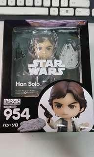 Brand New Sealed Nendoroid 954 Star Wars Han Solo