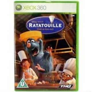 XBOX 360 Ratatouille Game