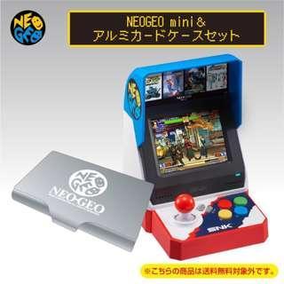 (現貨)日版 NEOGEO MINI (送SNK卡片盒)