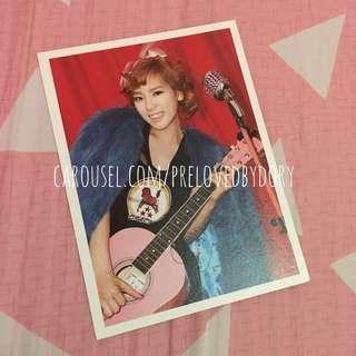 SNSD OT9 2012 Diary Postcard (Taeyeon)