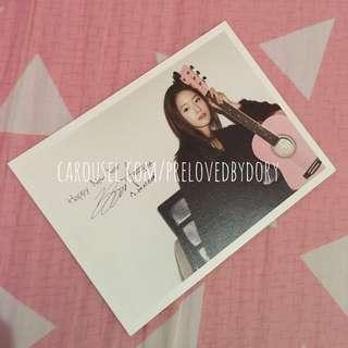 SNSD OT9 2012 Diary Postcard (Yoona)