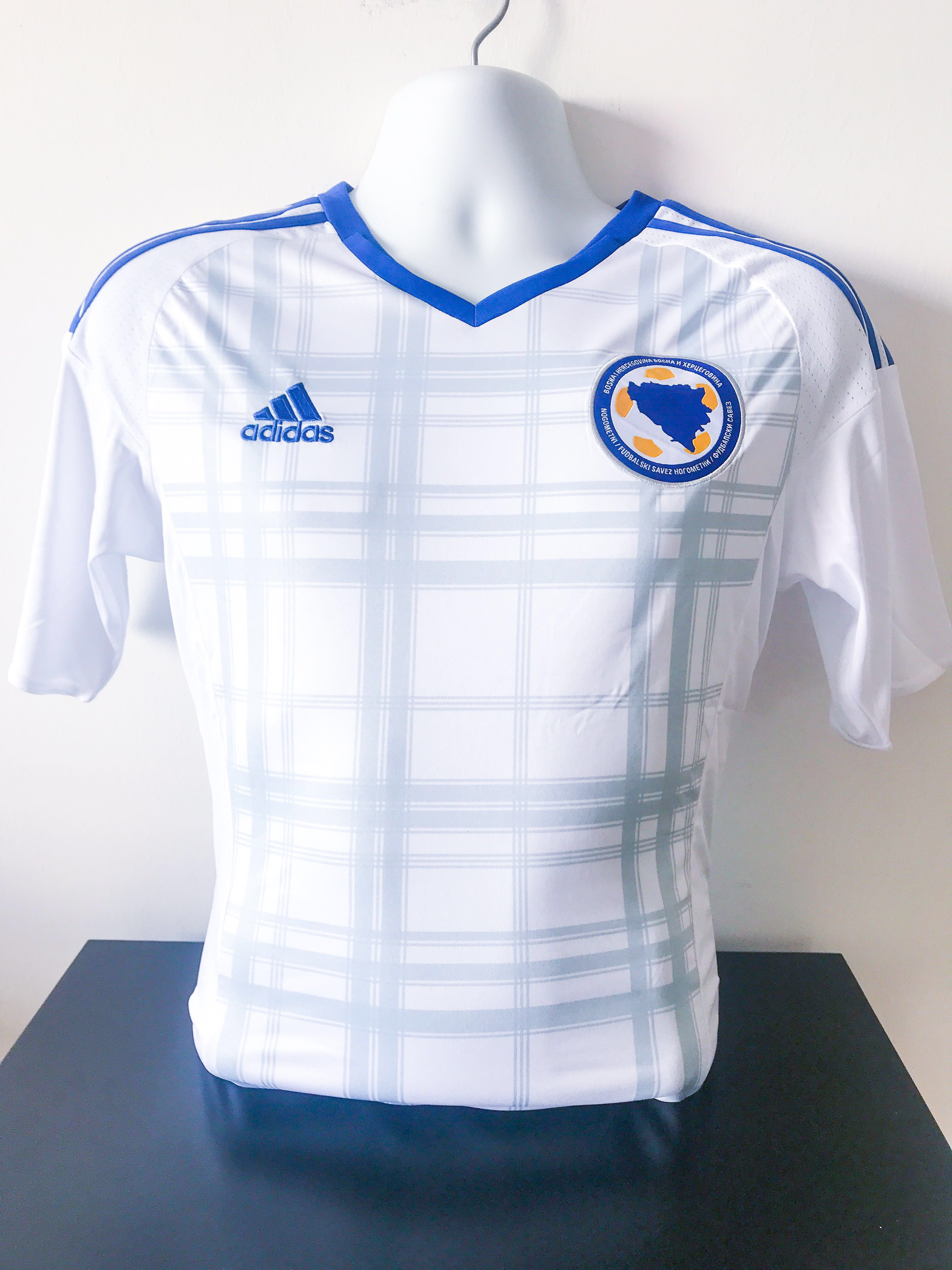 c49773ef1 🆕 Bosnia Herzegovina UEFA Euro 2016 Away Jersey, Sports, Sports ...
