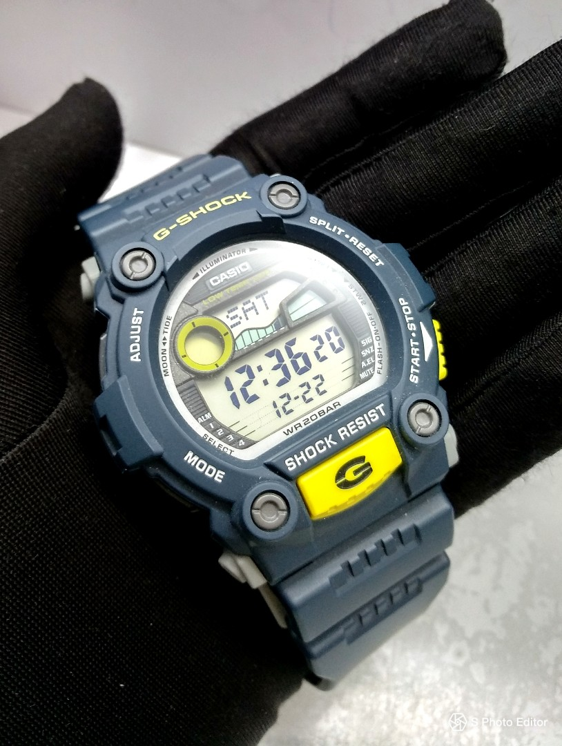 38caeb6b440a3 FREE DELIVERY   Brand New 100% Authentic Casio GShock Blue Tide ...