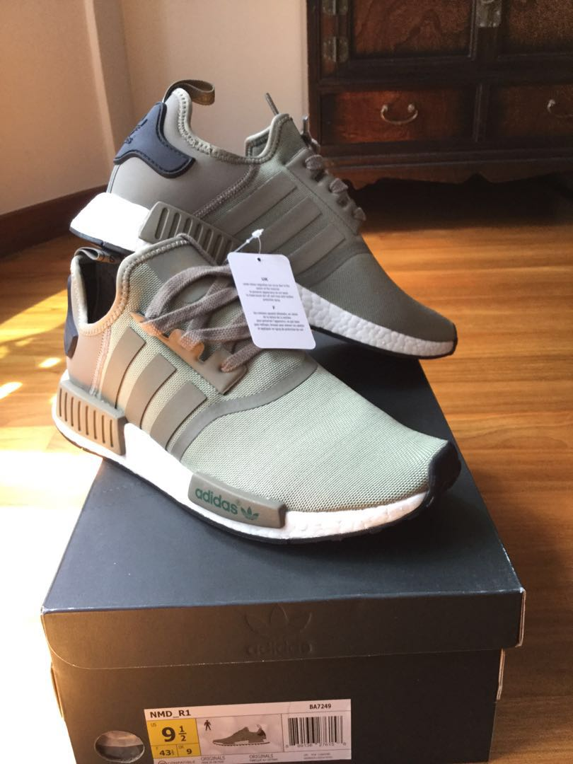 sports shoes d683c 3ff80 Adidas NmD R1, Men's Fashion, Footwear, Sneakers on Carousell
