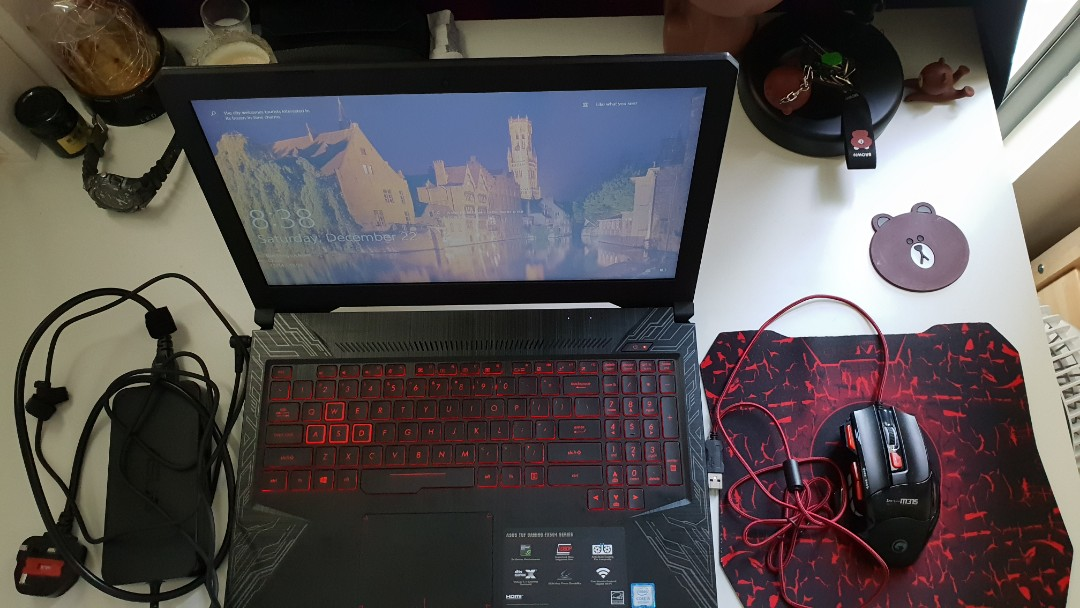 ASUS TUF GAMING FX504 SERIES (Gaming Rig and Personal Laptop)