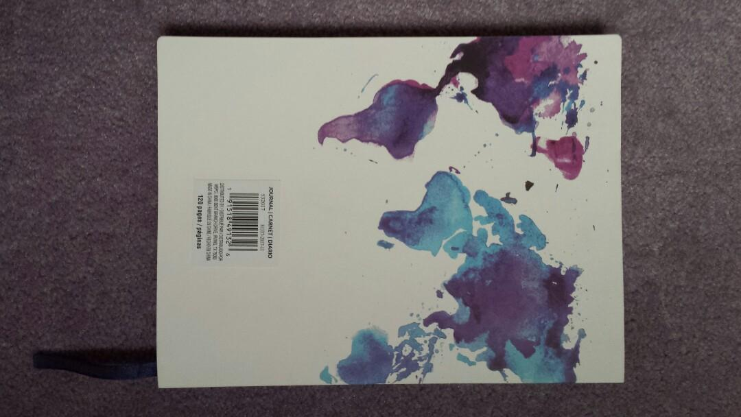 Beautiful brand new lined 120-page Notebook
