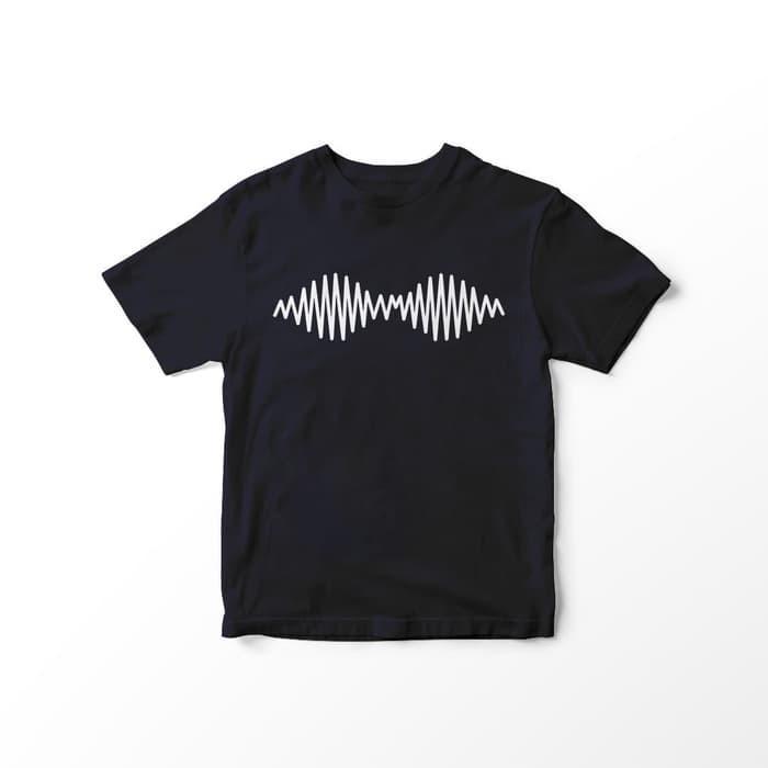 6f6b33c0 Black tumblr tee / t-shirt motif lines / kaos fashion wanita korea ...