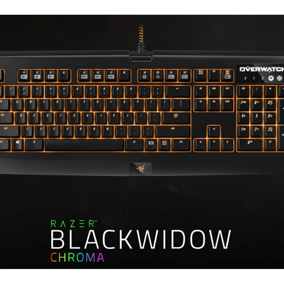 d8b42534489 BNIB Razer Blackwidow Chroma Overwatch Edition, Electronics ...