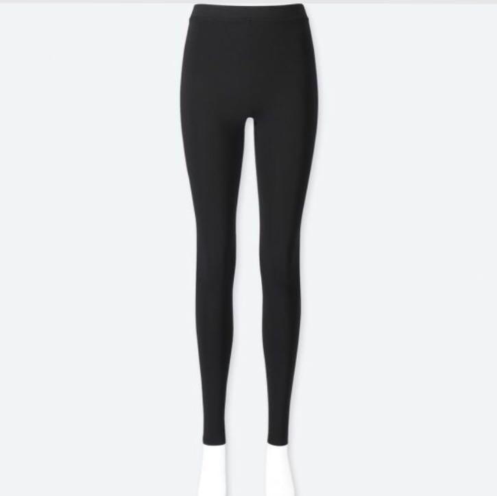 b12224f38410ff BNIP Uniqlo HEATTECH Extra Warm Black Leggings, Women's Fashion ...