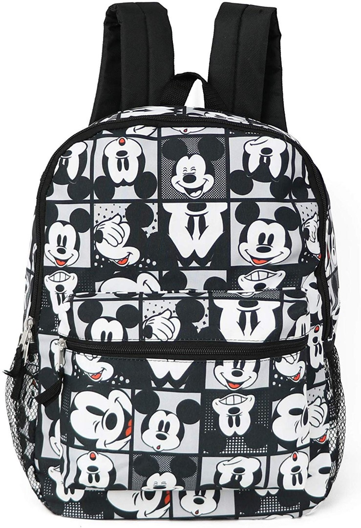 ecaa2c4349 Brand New  Disney Mickey Mouse All Over Print Backpack School Bag ...