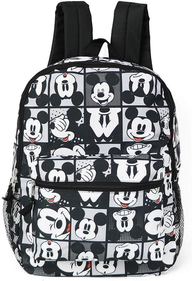 24d9279086ed Brand New* Disney Mickey Mouse All Over Print Backpack School Bag ...