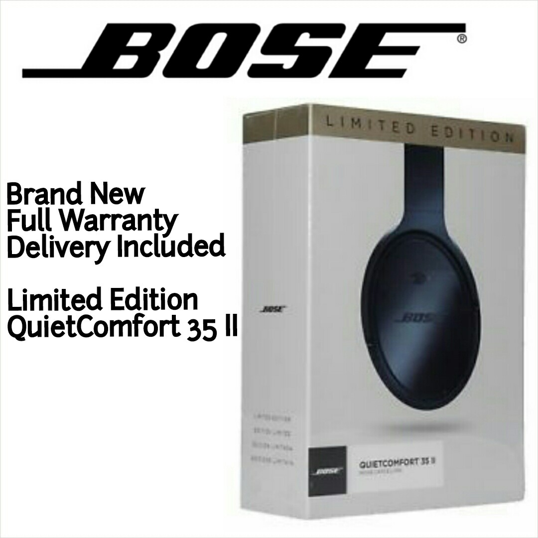 5ff0aee66fb Brand New! Limited Edition Bose QuietComfort 35 II QC35ii ...