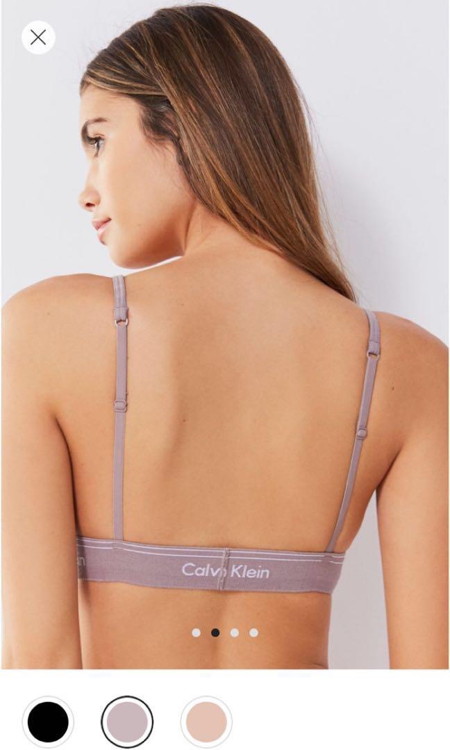 c0494e6f167 Calvin Klein heritage triangle bralette