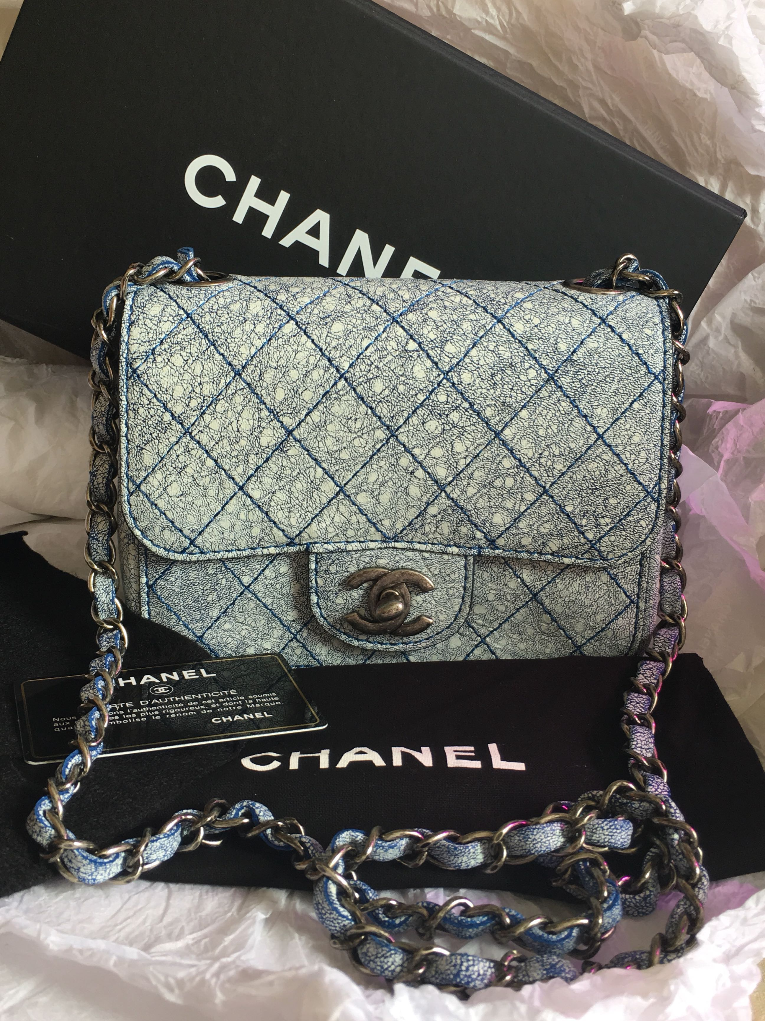 463135a70067 Chanel classic square mini flap bag, Luxury, Bags & Wallets, Sling ...
