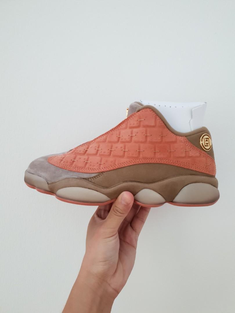 new concept 8d0c0 849c7 CLOT x Nike Air Jordan 13 Sepia Stone