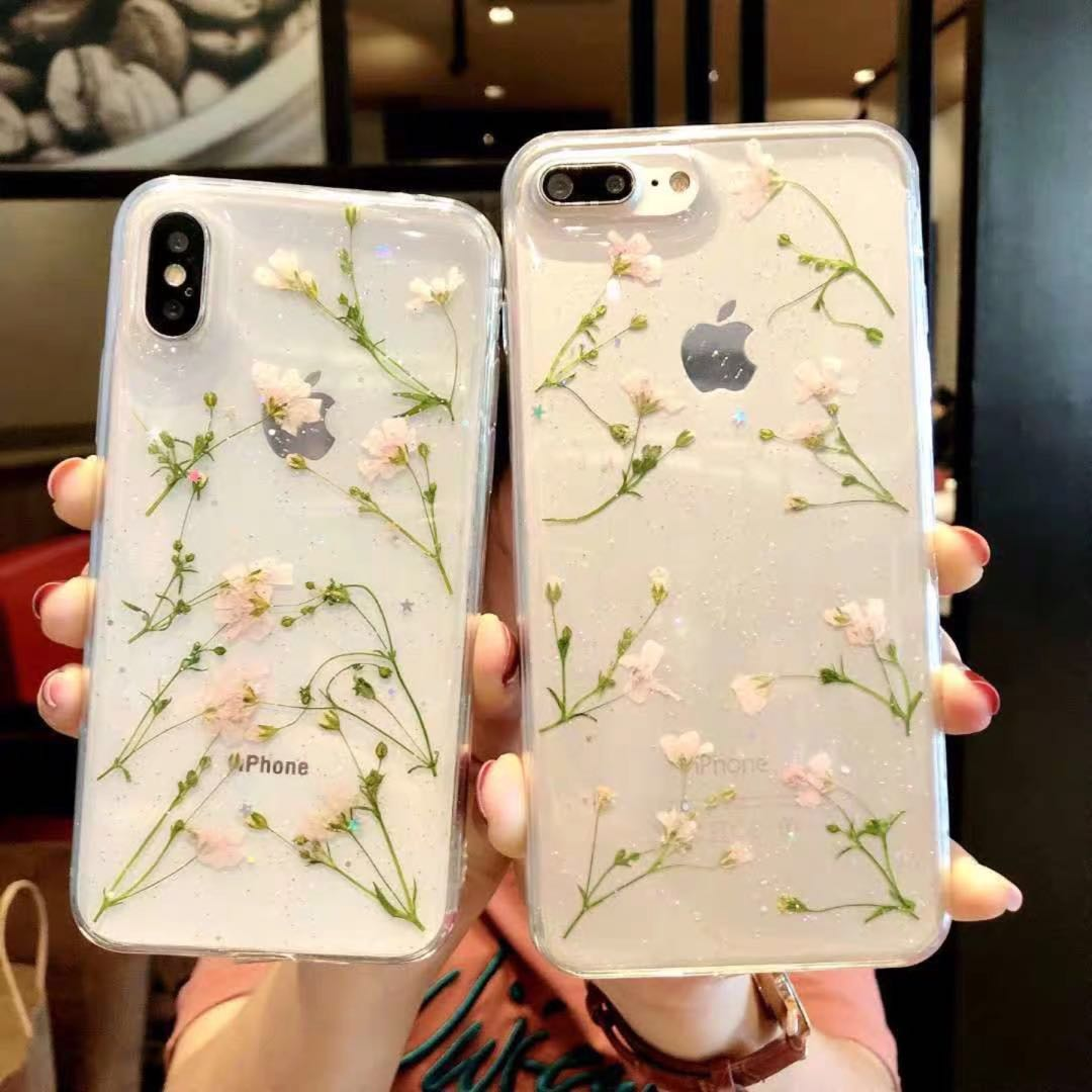 b52be5a64663a9 Dry Flower Handmade Phone Case🌿, Mobile Phones & Tablets, Mobile ...