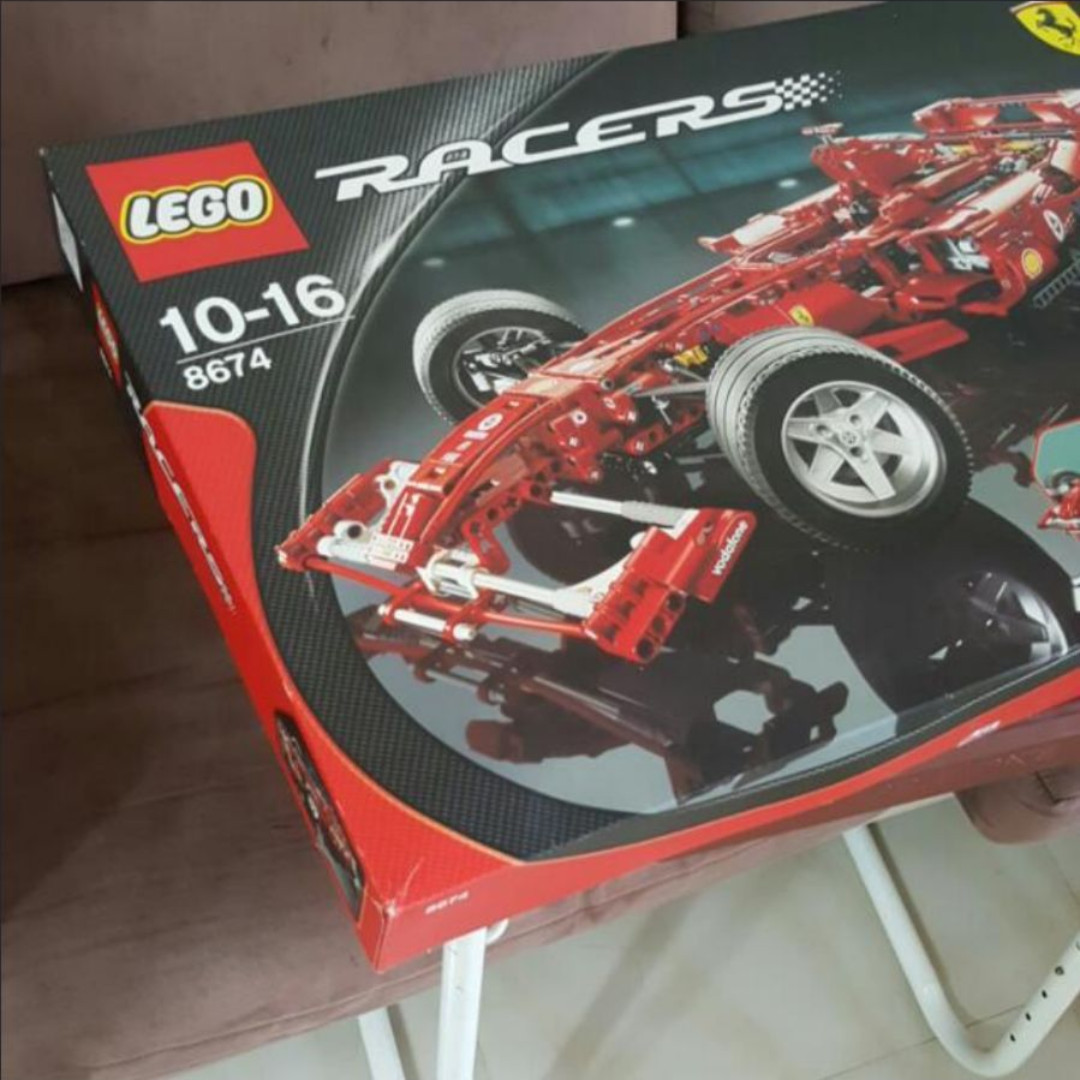 Ferrari F1 Lego Technics Racer 8674 Scale 18 Toys Games Bricks