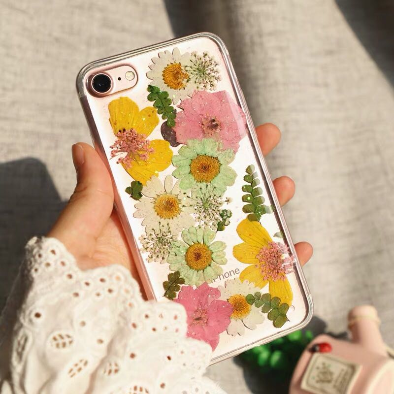6e14d0ad84f303 Handmade Dry Flower Phone Case🍃🌸🌼, Mobile Phones & Tablets ...