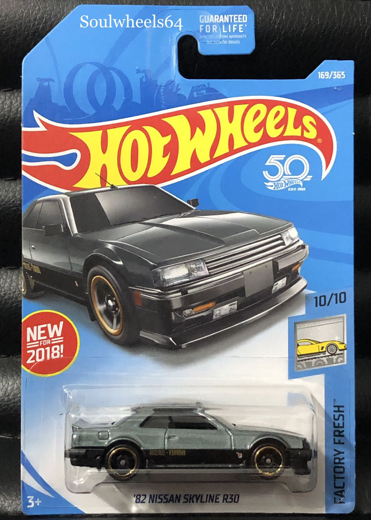 Hot Wheels Mainline Nissan Skyline R30